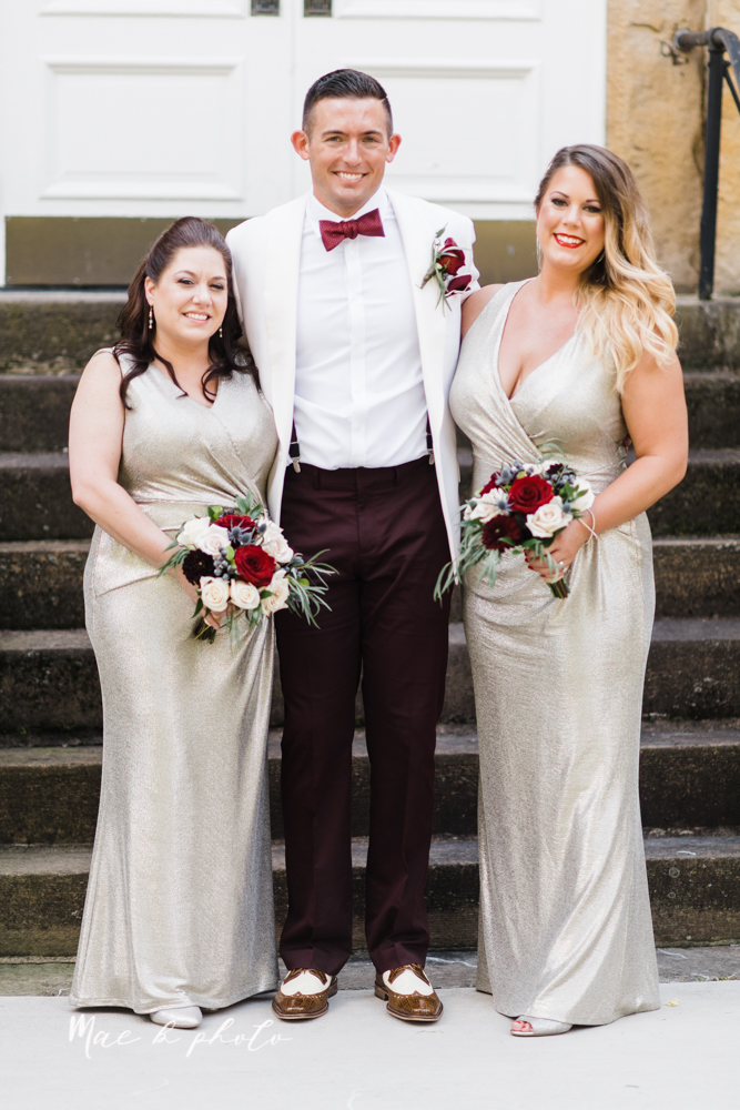 paige and cale's 1920s gatsby glam summer wedding at poland presbyterian church in poland ohio and mr anthony's banquet center in boardman ohio photographed by youngstown wedding photographer mae b photo-70.jpg