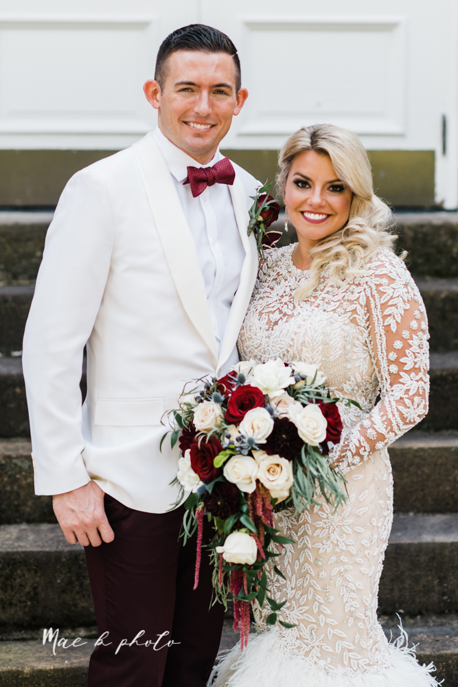 paige and cale's 1920s gatsby glam summer wedding at poland presbyterian church in poland ohio and mr anthony's banquet center in boardman ohio photographed by youngstown wedding photographer mae b photo-49.jpg