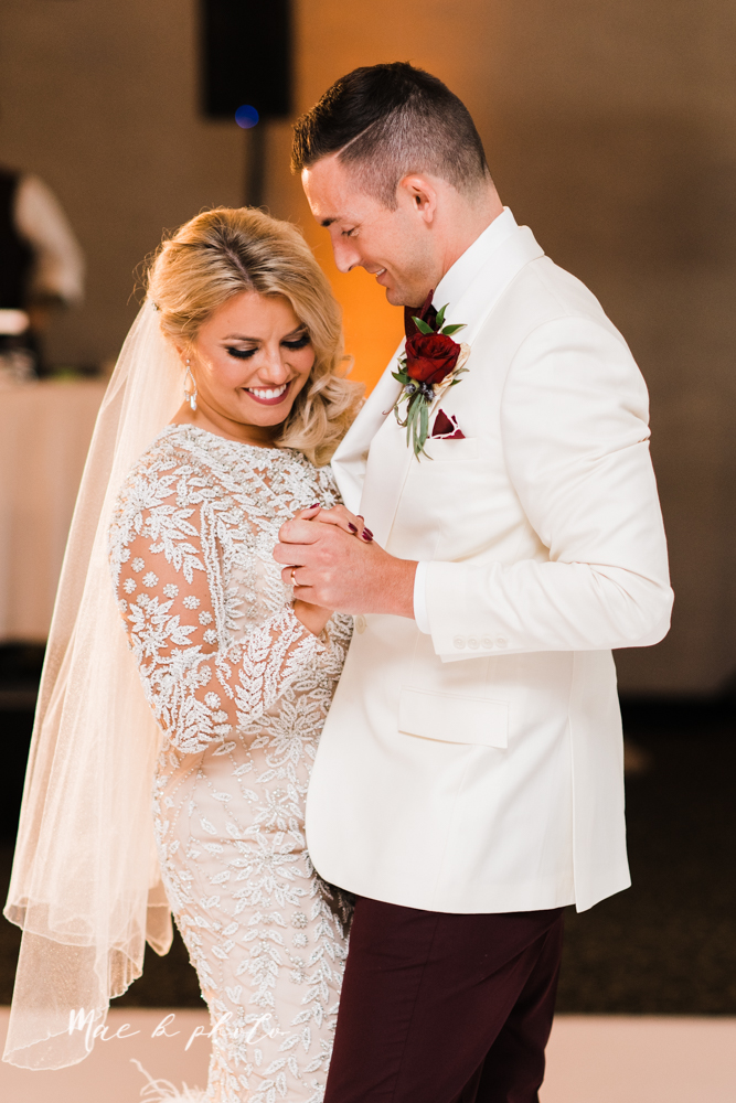 paige and cale's 1920s gatsby glam summer wedding at poland presbyterian church in poland ohio and mr anthony's banquet center in boardman ohio photographed by youngstown wedding photographer mae b photo-117.jpg