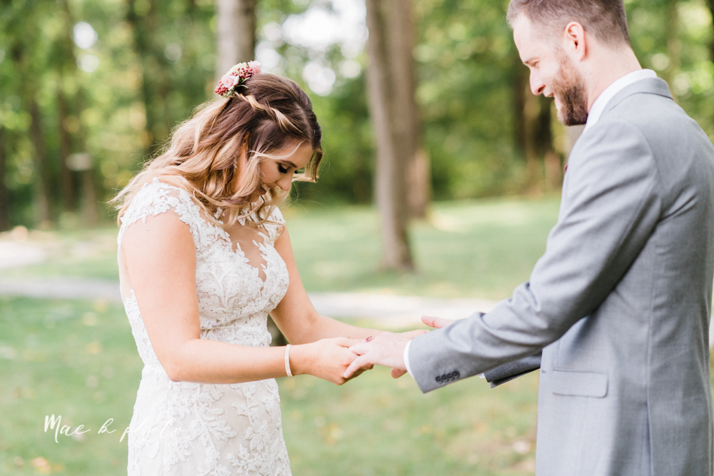 lauren and steve's romantic elegant sophisticated middle of the woods summer barn wedding at the grand barn event center in the mohicans in glenmont ohio photographed by youngstown wedding photographer mae b photo-33.jpg