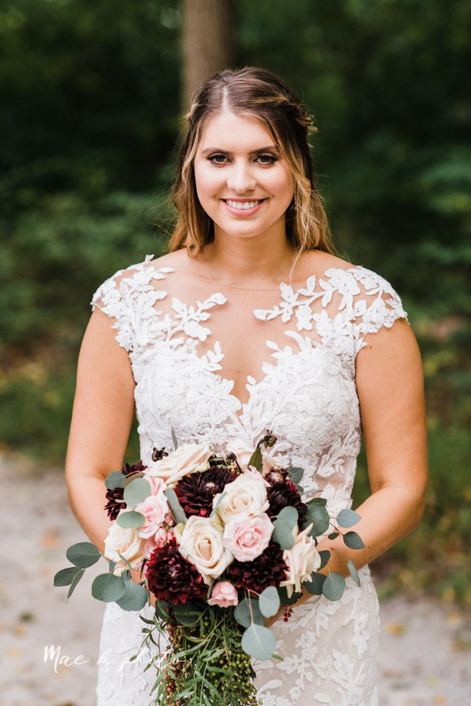 lauren and steve's romantic elegant sophisticated middle of the woods summer barn wedding at the grand barn event center in the mohicans in glenmont ohio photographed by youngstown wedding photographer mae b photo-61.jpg