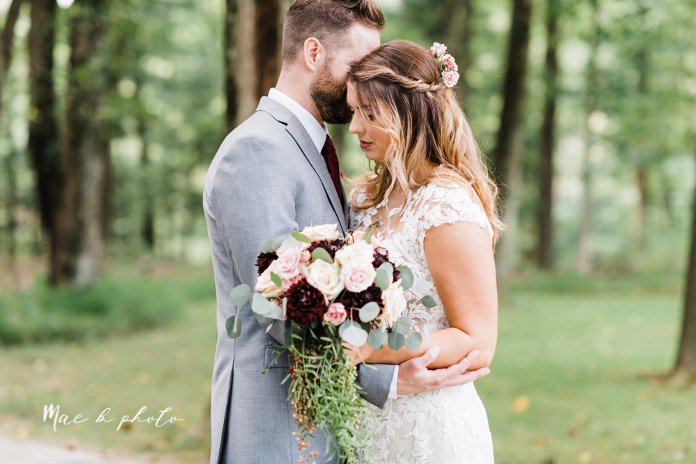 lauren and steve's romantic elegant sophisticated middle of the woods summer barn wedding at the grand barn event center in the mohicans in glenmont ohio photographed by youngstown wedding photographer mae b photo-43.jpg