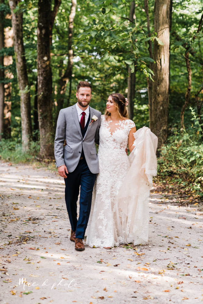 lauren and steve's romantic elegant sophisticated middle of the woods summer barn wedding at the grand barn event center in the mohicans in glenmont ohio photographed by youngstown wedding photographer mae b photo-79.jpg