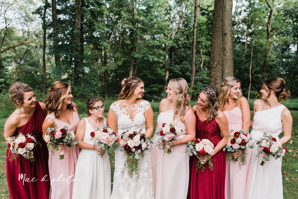 lauren and steve's romantic elegant sophisticated middle of the woods summer barn wedding at the grand barn event center in the mohicans in glenmont ohio photographed by youngstown wedding photographer mae b photo-55.jpg