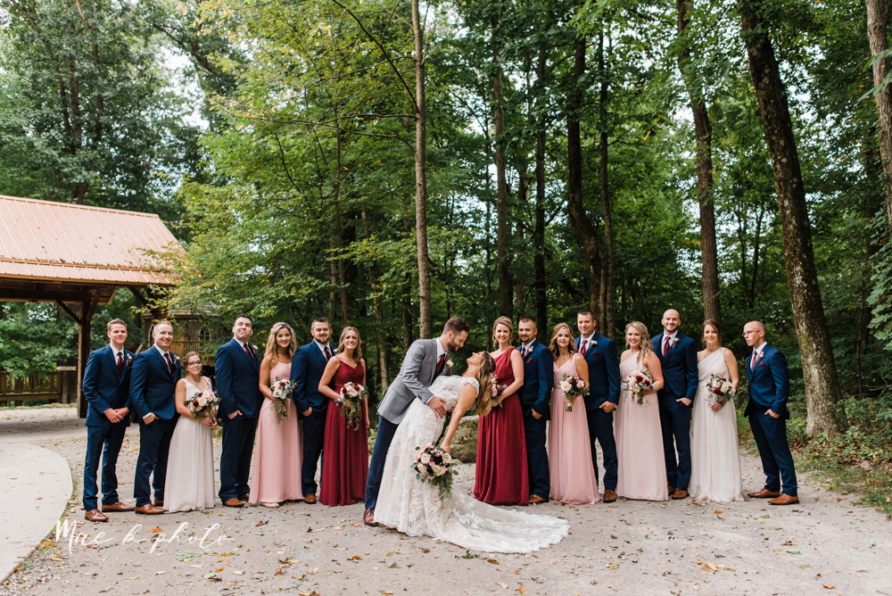 lauren and steve's romantic elegant sophisticated middle of the woods summer barn wedding at the grand barn event center in the mohicans in glenmont ohio photographed by youngstown wedding photographer mae b photo-66.jpg