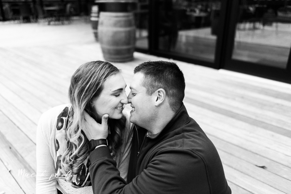 erin and shawn's fall Cleveland winery engagement session at sapphire creek winery photographed by youngstown wedding photographer mae b photo-47.jpg