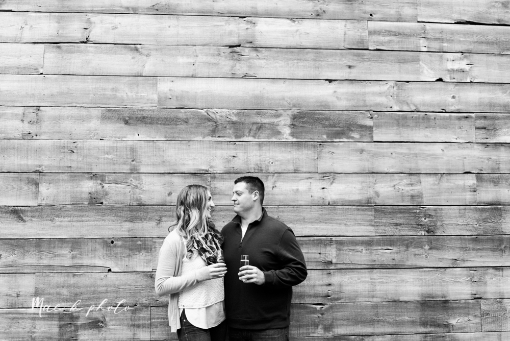 erin and shawn's fall Cleveland winery engagement session at sapphire creek winery photographed by youngstown wedding photographer mae b photo-36.jpg