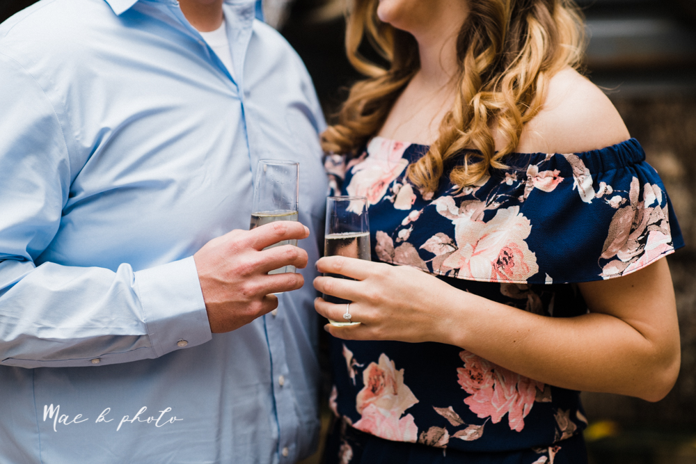 erin and shawn's fall Cleveland winery engagement session at sapphire creek winery photographed by youngstown wedding photographer mae b photo-7.jpg