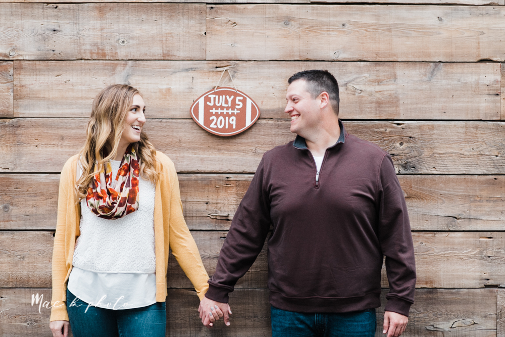 erin and shawn's fall Cleveland winery engagement session at sapphire creek winery photographed by youngstown wedding photographer mae b photo-38.jpg