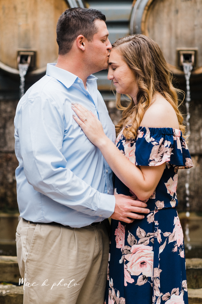 erin and shawn's fall Cleveland winery engagement session at sapphire creek winery photographed by youngstown wedding photographer mae b photo-10.jpg