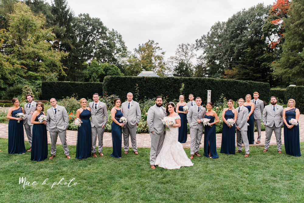 casey and matt's big fun italian fall wedding at st robert's church in cortland ohio and avion on the water in youngstown ohio and fellows riverside gardens in mill creek park photographed by youngstown wedding photographer mae b photo -105.jpg