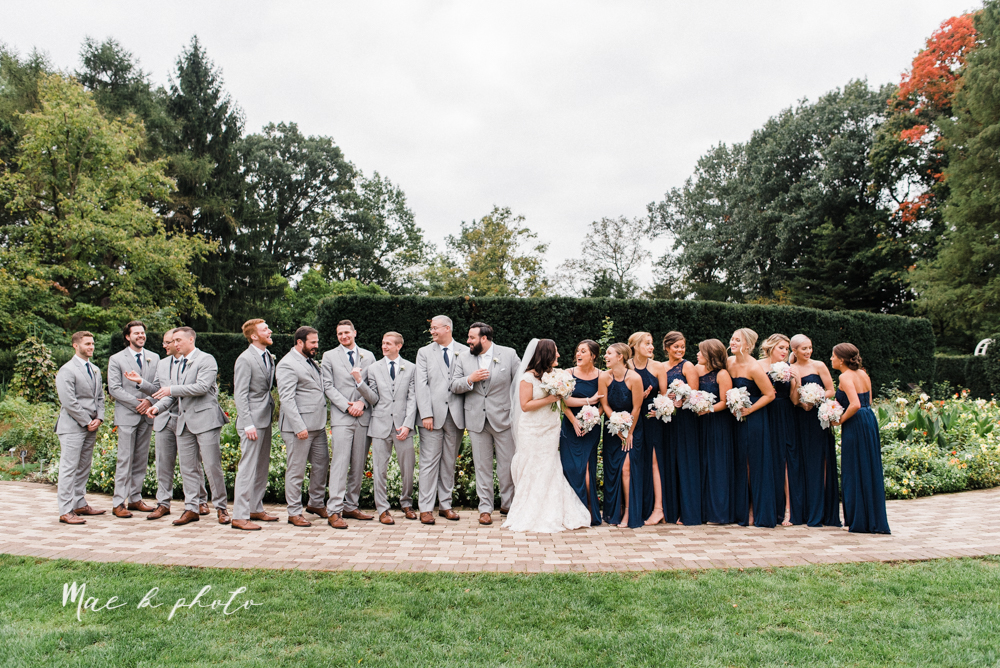 casey and matt's big fun italian fall wedding at st robert's church in cortland ohio and avion on the water in youngstown ohio and fellows riverside gardens in mill creek park photographed by youngstown wedding photographer mae b photo -102.jpg