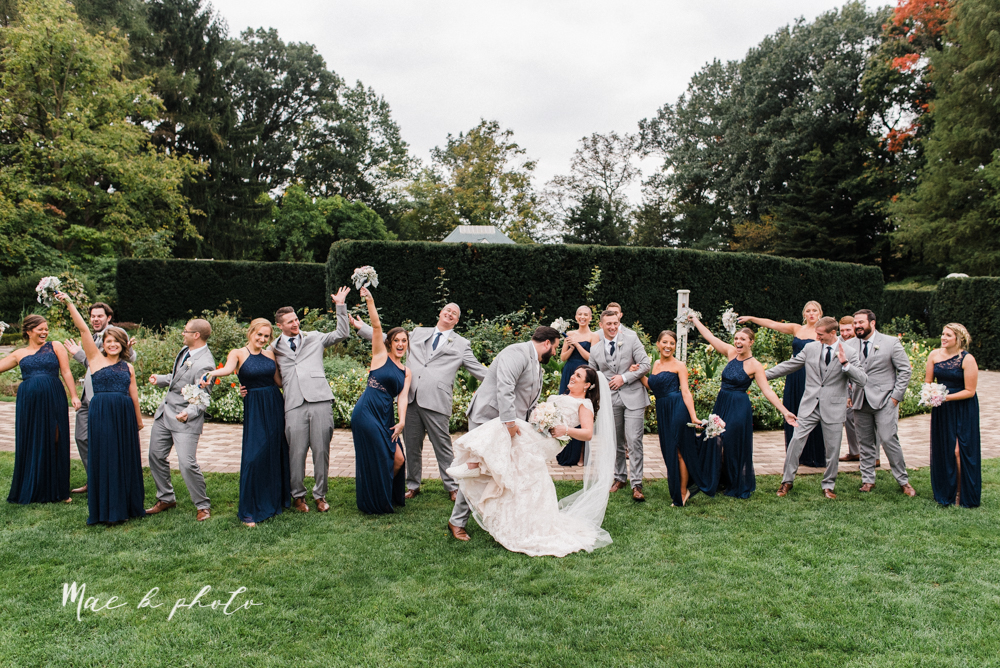 casey and matt's big fun italian fall wedding at st robert's church in cortland ohio and avion on the water in youngstown ohio and fellows riverside gardens in mill creek park photographed by youngstown wedding photographer mae b photo -107.jpg
