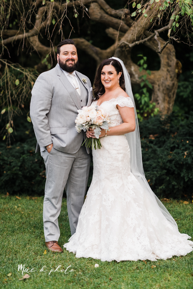 casey and matt's big fun italian fall wedding at st robert's church in cortland ohio and avion on the water in youngstown ohio and fellows riverside gardens in mill creek park photographed by youngstown wedding photographer mae b photo -130.jpg