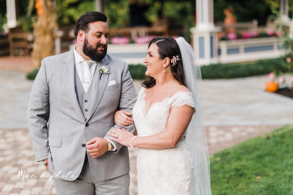 casey and matt's big fun italian fall wedding at st robert's church in cortland ohio and avion on the water in youngstown ohio and fellows riverside gardens in mill creek park photographed by youngstown wedding photographer mae b photo -157.jpg