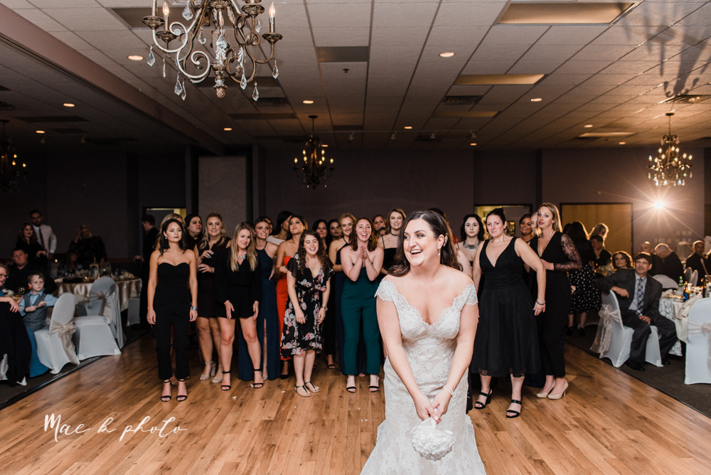 casey and matt's big fun italian fall wedding at st robert's church in cortland ohio and avion on the water in youngstown ohio and fellows riverside gardens in mill creek park photographed by youngstown wedding photographer mae b photo -182.jpg