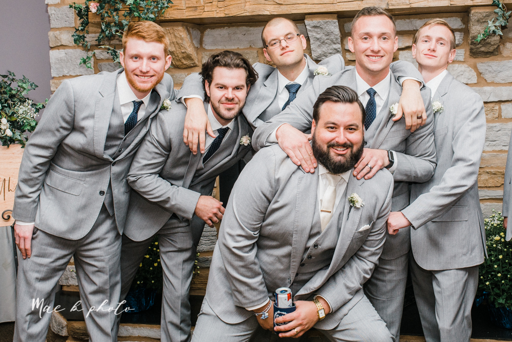 casey and matt's big fun italian fall wedding at st robert's church in cortland ohio and avion on the water in youngstown ohio and fellows riverside gardens in mill creek park photographed by youngstown wedding photographer mae b photo -20.jpg