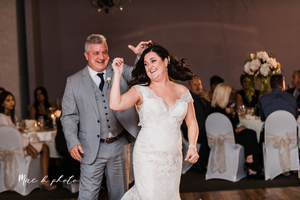casey and matt's big fun italian fall wedding at st robert's church in cortland ohio and avion on the water in youngstown ohio and fellows riverside gardens in mill creek park photographed by youngstown wedding photographer mae b photo -190.jpg