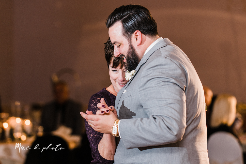 casey and matt's big fun italian fall wedding at st robert's church in cortland ohio and avion on the water in youngstown ohio and fellows riverside gardens in mill creek park photographed by youngstown wedding photographer mae b photo -195.jpg