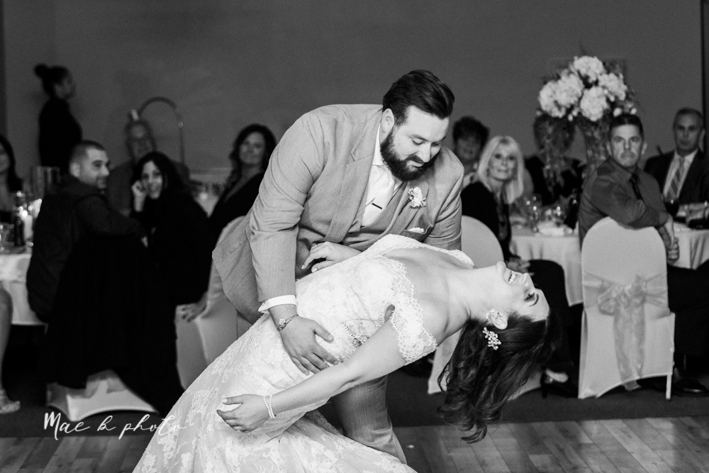 casey and matt's big fun italian fall wedding at st robert's church in cortland ohio and avion on the water in youngstown ohio and fellows riverside gardens in mill creek park photographed by youngstown wedding photographer mae b photo -188.jpg