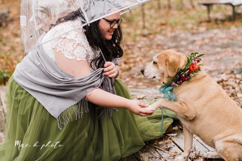 kaitlin and brad's offbeat winter harry potter the hobbit lord of the rings themed wedding at mapleside lodge in brunswick ohio photographed by youngstown wedding photographer mae b photo-35.jpg