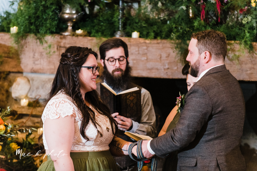 kaitlin and brad's offbeat winter harry potter the hobbit lord of the rings themed wedding at mapleside lodge in brunswick ohio photographed by youngstown wedding photographer mae b photo-90.jpg