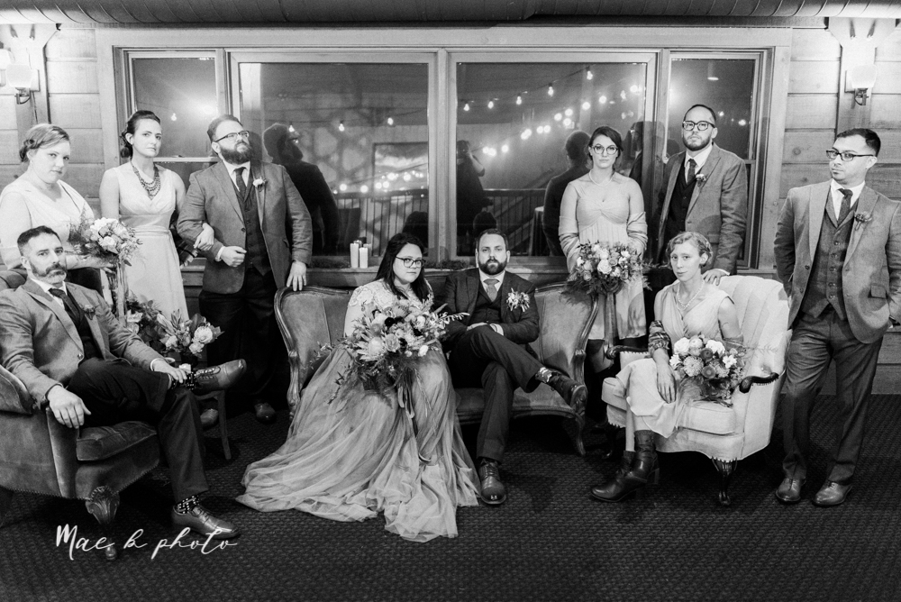 kaitlin and brad's offbeat winter harry potter the hobbit lord of the rings themed wedding at mapleside lodge in brunswick ohio photographed by youngstown wedding photographer mae b photo-77.jpg