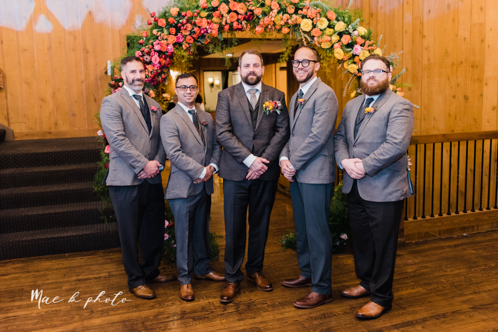 kaitlin and brad's offbeat winter harry potter the hobbit lord of the rings themed wedding at mapleside lodge in brunswick ohio photographed by youngstown wedding photographer mae b photo-43.jpg