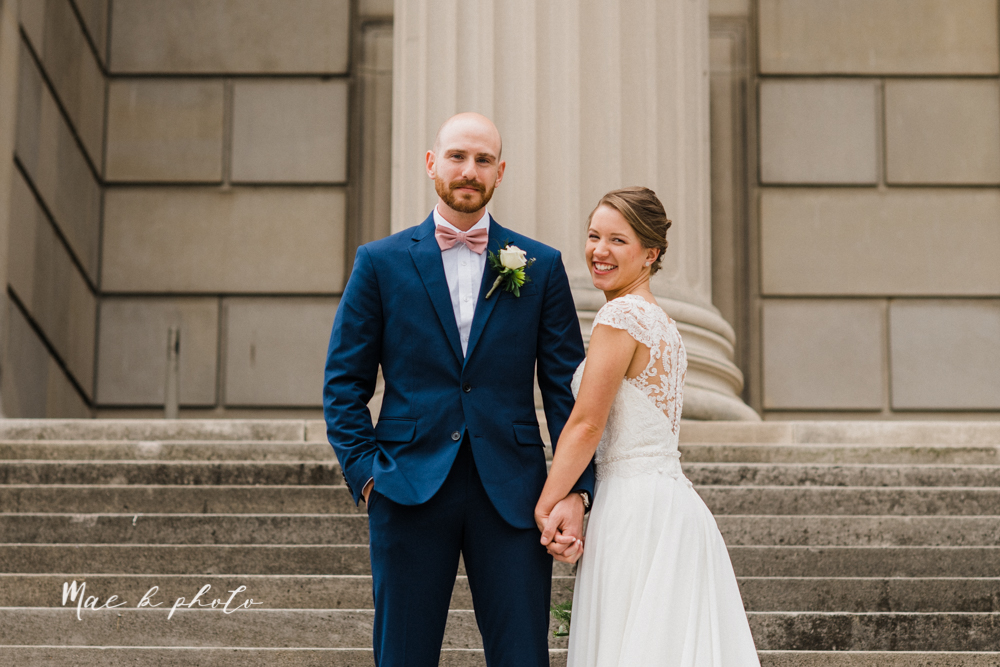 taylor and james' elegant intimate spring garden wedding memorial day weekend at stambaugh auditorium in youngstown ohio photographed by youngstown wedding photographer mae b photo-100.jpg