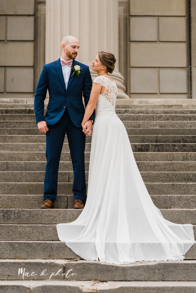 taylor and james' elegant intimate spring garden wedding memorial day weekend at stambaugh auditorium in youngstown ohio photographed by youngstown wedding photographer mae b photo-99.jpg