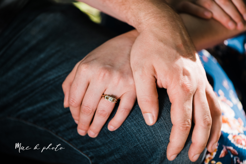 kirsten and noll's intimate woodsy engagement session at lanterman's mill in mill creek park in youngstown ohio photographed by youngstown wedding photographer mae b photo-41.jpg