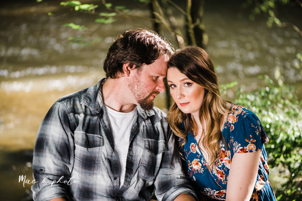 kirsten and noll's intimate woodsy engagement session at lanterman's mill in mill creek park in youngstown ohio photographed by youngstown wedding photographer mae b photo-37.jpg