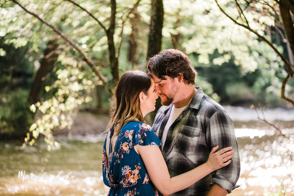 kirsten and noll's intimate woodsy engagement session at lanterman's mill in mill creek park in youngstown ohio photographed by youngstown wedding photographer mae b photo-32.jpg