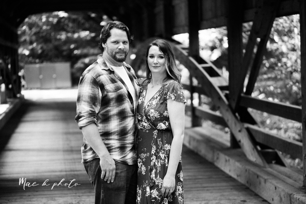 kirsten and noll's intimate woodsy engagement session at lanterman's mill in mill creek park in youngstown ohio photographed by youngstown wedding photographer mae b photo-3.jpg