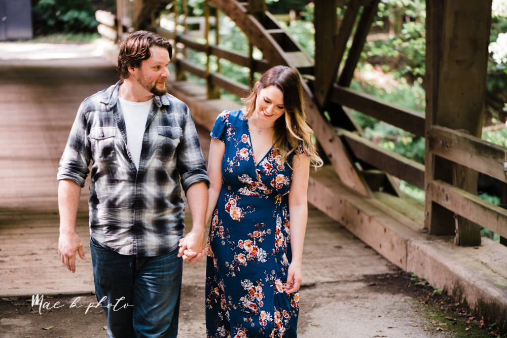 kirsten and noll's intimate woodsy engagement session at lanterman's mill in mill creek park in youngstown ohio photographed by youngstown wedding photographer mae b photo-7.jpg