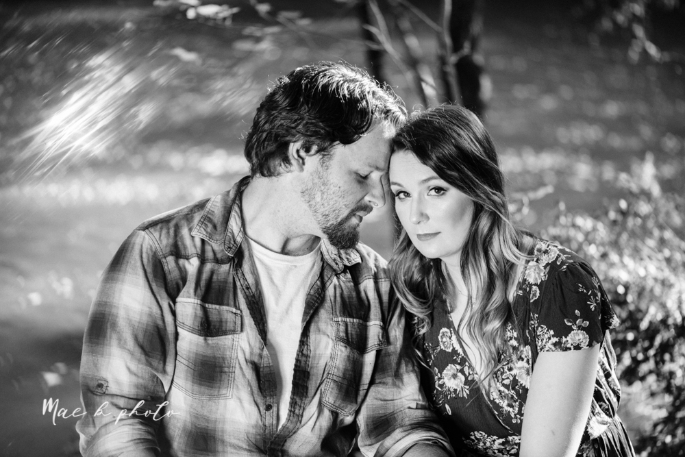 kirsten and noll's intimate woodsy engagement session at lanterman's mill in mill creek park in youngstown ohio photographed by youngstown wedding photographer mae b photo-38.jpg