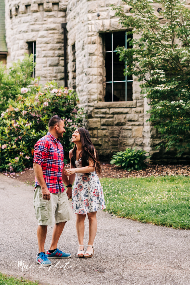 tim and margarita's summer castle engagement session at squire's castle in willoughby ohio photographed by youngstown wedding photographer mae b photo-15.jpg