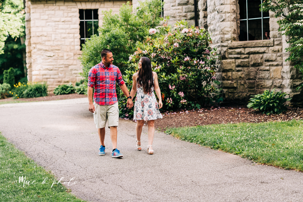 tim and margarita's summer castle engagement session at squire's castle in willoughby ohio photographed by youngstown wedding photographer mae b photo-12.jpg