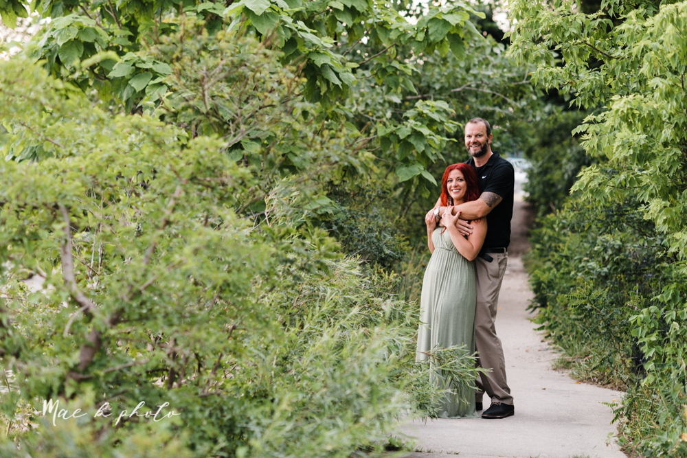 lisa and john's summer lake side engagement session at geneva on the lake in geneva ohio and the harpersfield covered bridge in harpersfield ohio photographed by youngstown wedding photographer mae b photo-52.jpg