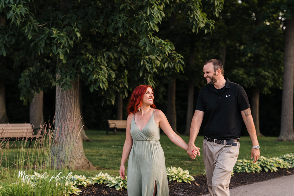 lisa and john's summer lake side engagement session at geneva on the lake in geneva ohio and the harpersfield covered bridge in harpersfield ohio photographed by youngstown wedding photographer mae b photo-25.jpg
