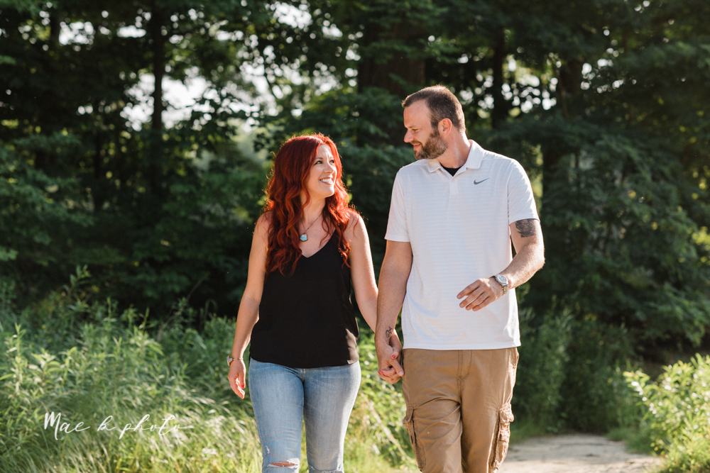lisa and john's summer lake side engagement session at geneva on the lake in geneva ohio and the harpersfield covered bridge in harpersfield ohio photographed by youngstown wedding photographer mae b photo-12.jpg
