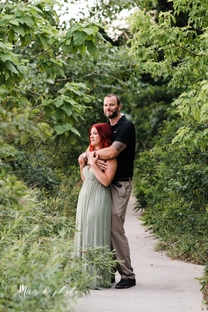 lisa and john's summer lake side engagement session at geneva on the lake in geneva ohio and the harpersfield covered bridge in harpersfield ohio photographed by youngstown wedding photographer mae b photo-51.jpg