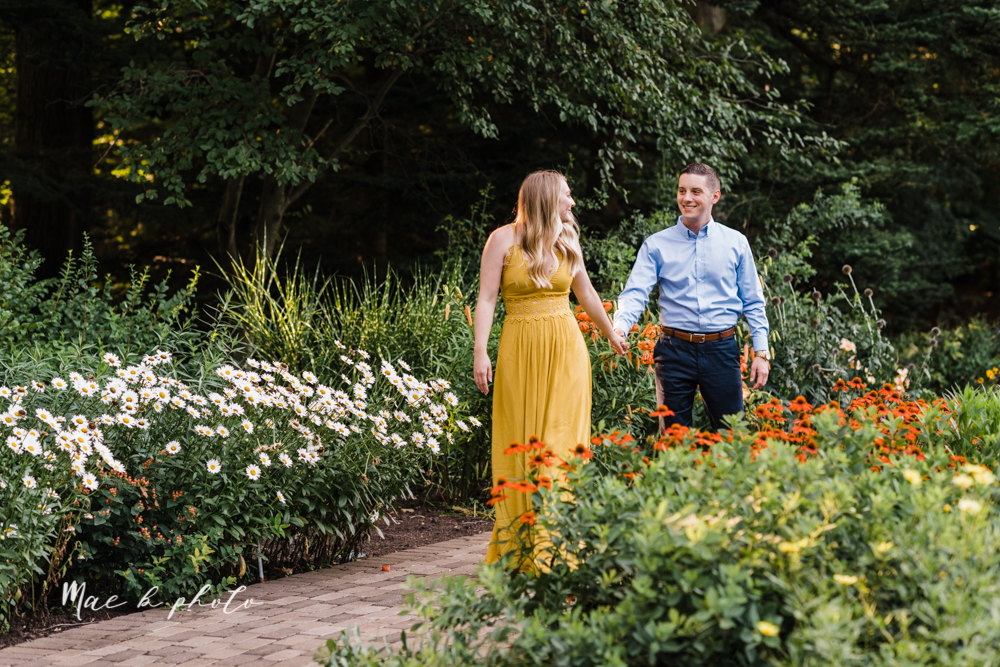 julie and jared's romantic summer garden engagement session at rivers fellowside gardens in mill creek park in the rose gardens in youngstown ohio photographed by youngstown wedding photographer mae b photo-13.jpg