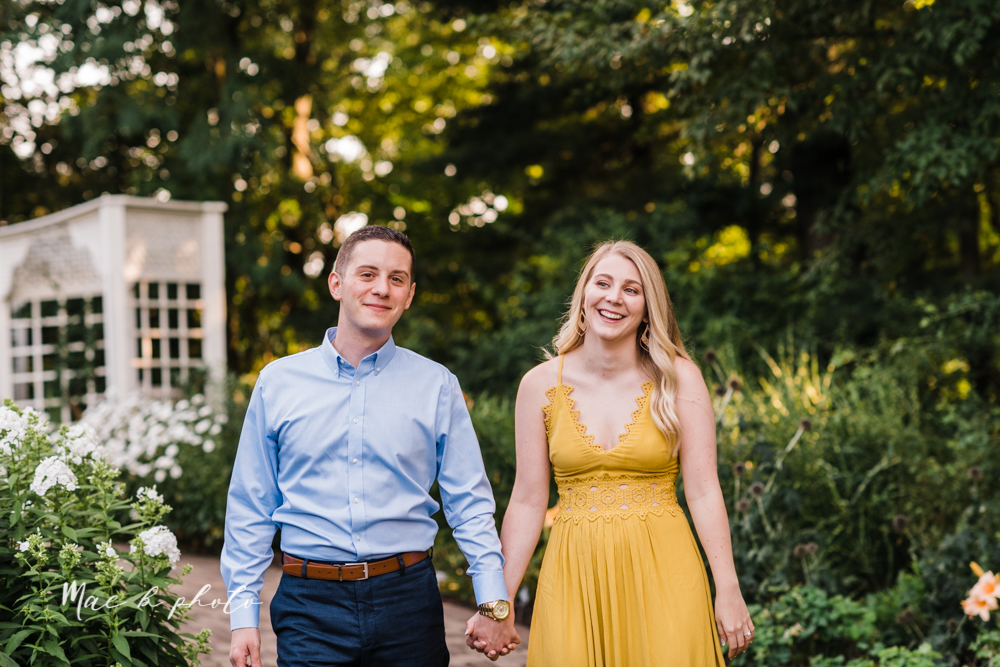 julie and jared's romantic summer garden engagement session at rivers fellowside gardens in mill creek park in the rose gardens in youngstown ohio photographed by youngstown wedding photographer mae b photo-8.jpg