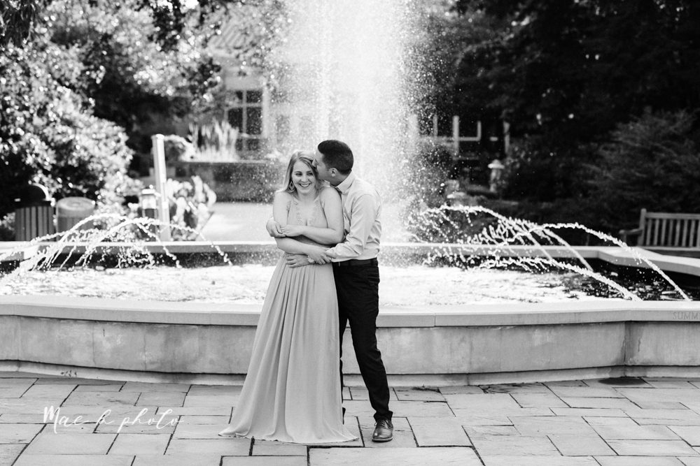 julie and jared's romantic summer garden engagement session at rivers fellowside gardens in mill creek park in the rose gardens in youngstown ohio photographed by youngstown wedding photographer mae b photo-37.jpg