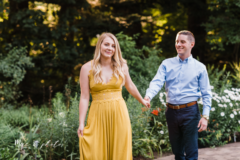 julie and jared's romantic summer garden engagement session at rivers fellowside gardens in mill creek park in the rose gardens in youngstown ohio photographed by youngstown wedding photographer mae b photo-14.jpg