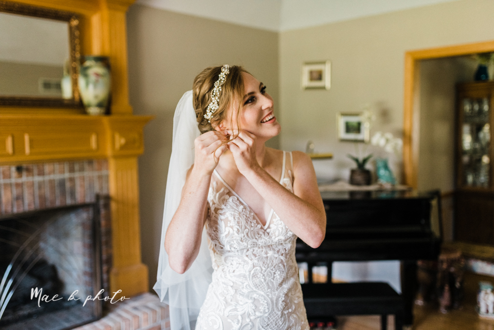 christina and michael's baseball themed midwest wedding at drake's landing and river's fellowside gardens in mill creek park in  youngstown ohio and holy family parish in poland ohio photographed by youngstown wedding photographer mae b photo-20.jpg