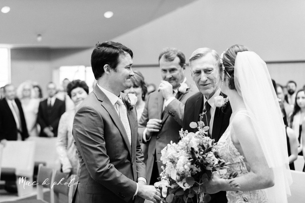 christina and michael's baseball themed midwest wedding at drake's landing and river's fellowside gardens in mill creek park in  youngstown ohio and holy family parish in poland ohio photographed by youngstown wedding photographer mae b photo-33.jpg