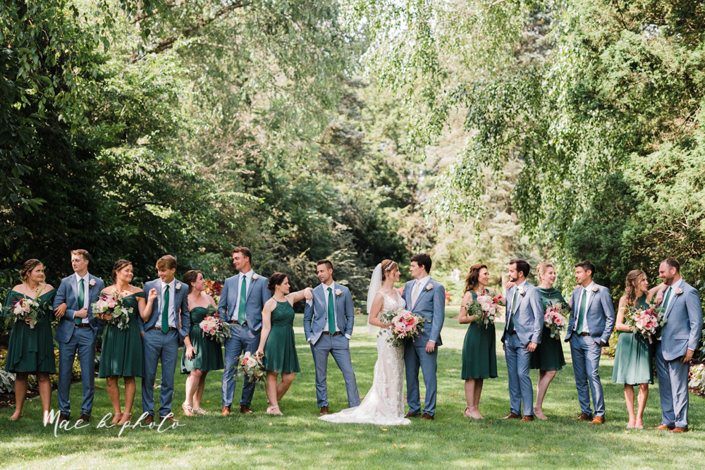 christina and michael's baseball themed midwest wedding at drake's landing and river's fellowside gardens in mill creek park in  youngstown ohio and holy family parish in poland ohio photographed by youngstown wedding photographer mae b photo-52.jpg