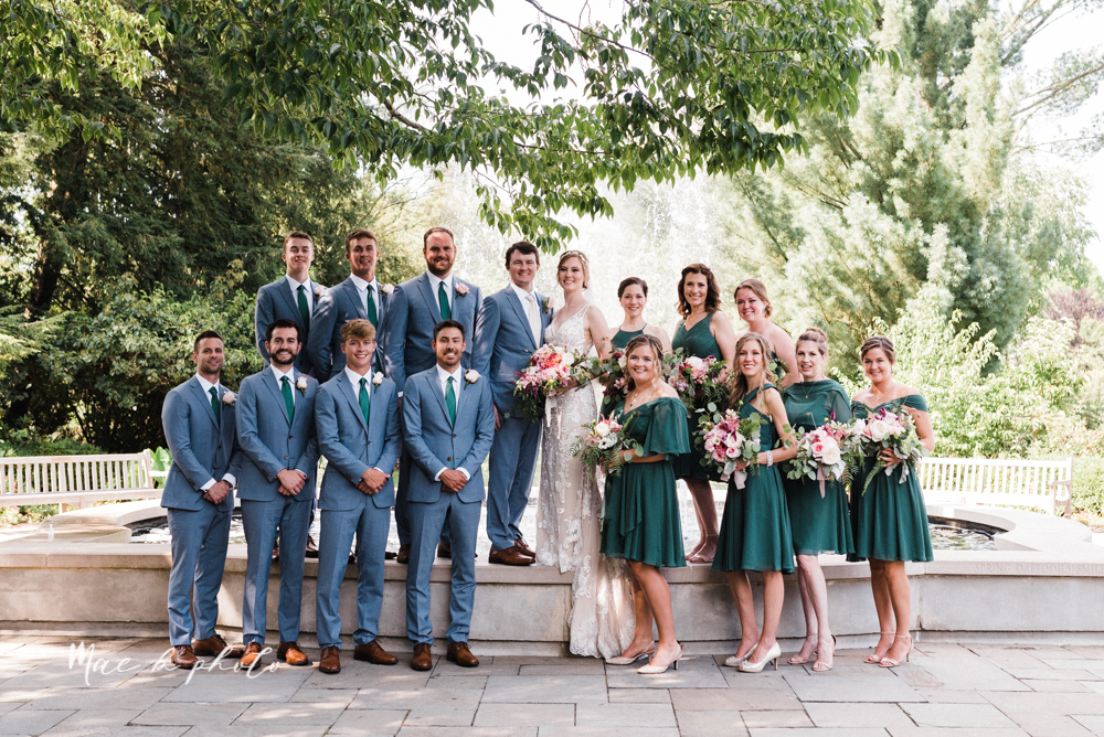 christina and michael's baseball themed midwest wedding at drake's landing and river's fellowside gardens in mill creek park in  youngstown ohio and holy family parish in poland ohio photographed by youngstown wedding photographer mae b photo-57.jpg